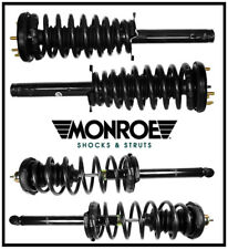 Complete Suspension Kit MONROE Shocks Struts Coil Springs Mount for ACCORD 98-02