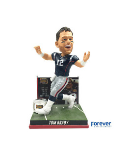 Forever Collectibles Tom Brady Second Super Bowl Win Bobblehead
