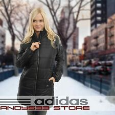 adidas Performance J Entry 3s Long Coat Winter Womens Jacket Parka Padded S
