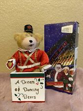 Radio City Rockettes Soldier Bear Plush In Wood Box New
