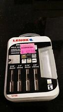 *NEW* LENOX-12158 4pc Diamond Tile Hole Saw Kit