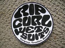 vintage rip curl surfboard sticker surfing 1980s Australia trestles France Large