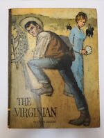 The Virginian By Owen Wister  Educator Classic Library large hardcover book