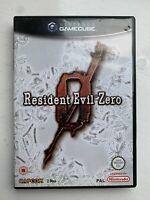 Resident Evil 0 Nintendo Gamecube Game Pal Version