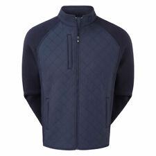 Footjoy Men's Fleece Quilted Golf Jacket 95035 Navy