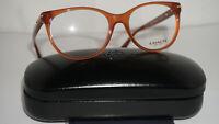 COACH RX Eyeglasses New Betty HC 6056 5251 Milky Saddle 51 17 135