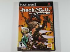 ¤ .Hack//G.U. Vol 1: Rebirth ¤ BRAND NEW SEALED Sony PlayStation 2 PS2 Game