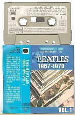 THE BEATLES cassette K7 tape 1967-1970 vol 1 french '76 pressing paper label