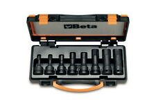 Beta Tools 720ME/C8 1/2 Drive Impact Hex Socket Driver Set 8pc 5mm to 19mm in Ca