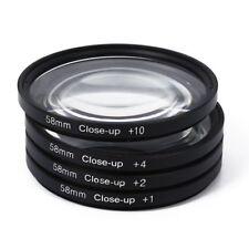 58mm Macro Close Up Lens For eos 1100d 500d 550d 600d 60d 58 nikon UK R9W2