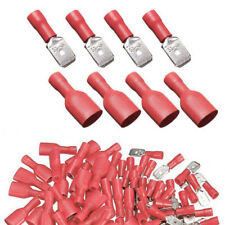 Insulated Terminals Auto Wire Electrical Crimp Connector Spade Splice Terminals