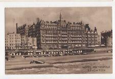 Hotel Metropole Brighton 1932 Postcard  206a