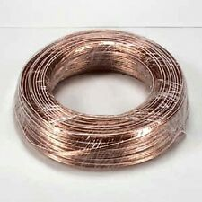 100'FT High Quality Gauge 22-Awg Speaker audio Cable 2-conductor Wires Home Car