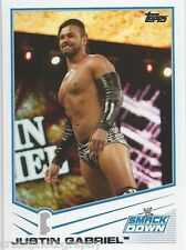 Justin Gabriel 2013 WWE Topps Triple Threat Trading Card #65 Smackdown