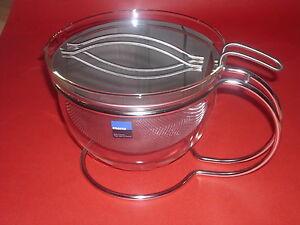 Mono Teekanne Filio 1,5  ltr. Design Grolman - NEU mit Sieb Kanne + Früchtetee