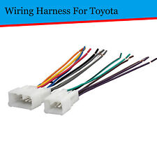 For Toyota Aftermarket Radio Stereo Install Car Wire Harness Cable Adapter Fits 1997 Toyota Corolla