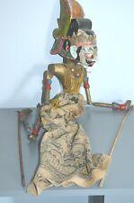 Ancienne Marionnette Bois  Indonésie Bali java à Restaurer