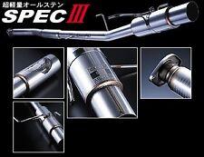 BUDDYCLUB SPEC 3 SUBARU IMPREZA CLASSIC GC8 93-99 CAT BACK EXHAUST SYSTEM Y0284