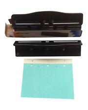 Punch -3 individuelle réglable pour 3 trous A5 Paramètre De Taille 70.70 mm KW999 BLK