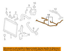 Cadillac GM OEM 09-15 CTS 6.2L-V8 Radiator-Upper Inlet Hose 25880392