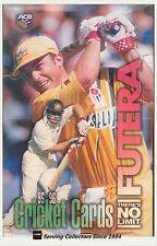 Cricket Card Box--1995-96 Futera Cricket No Limit Cards FACTORY Box (40 packs)