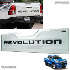 Tailgate Outer White Rear Back Lid Cover Toyota Hilux Revo Sr5 Truck 2016 2017