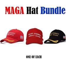 Make America Great Again Hat The Ultimate Republican 3 Pack Donald Trump USA