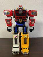Power Rangers Lightspeed Rescue GoGoFive DX Victory Robo Megazord Gattai BANDAI
