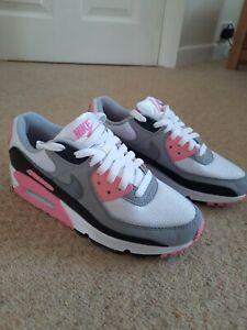 Nike Air Max 90 Gray/Pink Uk Size 4