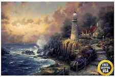 Plaid Paint by Number Kit (16 by 20-Inch) 21786 Thomas Kinkade Light of Peace