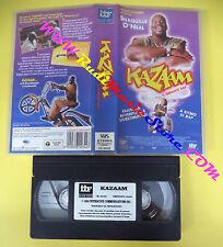 VHS film KAZAAM IL GIGANTE RAP 1996 Shaquille O'Neal IIF CK 20342 (F100) no dvd
