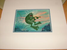 Don Bluth  -  A Troll in Central Park -- Original storyboard 1994 - COA