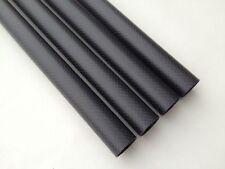 1 X 18mm X 16mm X 500MM Carbon Fiber Tube 3K /Tubing/pipe Matte For RC Quad US