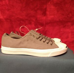 Converse Jack Purcell Signature. New Gray Low Top Shoes. Mens Size 9.5