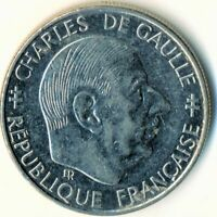 COIN / FRANCE / 1 FRANC 1988 / CHARLES DE GAULLE COMMEMORATIVE      #WT8553