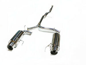 OBX Dual Catback Exhaust System for 1998-2002 Honda Accord V6 3.0L J30A1 Sedan