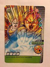 Data Carddass Dragon Ball Z Bakuretsu Impact Part PE 034-III