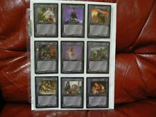 Middle Earth CCG: 9 Different Rare Cards - Lidless Eye MECCG LOTR -Near Mint