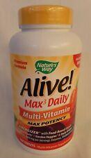Nature'S Way Alive Max3 Daily Multi-Vitamin Max Potency 180 Tab, **New/Sealed**