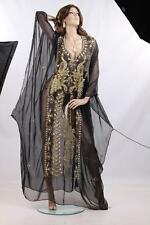 KHALEEJI DRESS BELLY DANCE ABAYA KAFTAN DRESS ABAYA jalabiya New Handmade egypt1