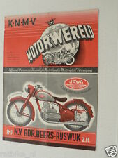 DMW 1949-15,KNMV RIT,SATTER,HOGERHUIS,BAKKER,VD RIDDER OGAR,ESSO ADD,JAWA COVER