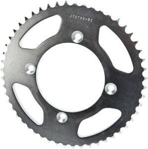 Steel Rear Sprocket - 52 Tooth 428 JTS. JTR798.52 For RM80, RM85/L, YZ80, YZ85