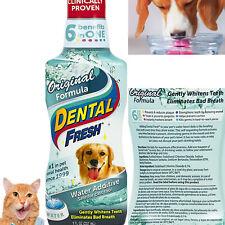 Dog Dental Care Fresh Breath Water Cat Mouth Wash Anti Plaque Teeth Hygiene 8oz