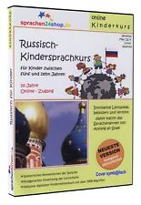 Kindersprachkurs Russisch lernen für Kinder - Download-Software