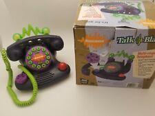 Nickelodeon Talk Blaster Multi-Ringer Corded Telephone Model N2500 NOS 1996