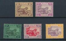 [50665] Malaya lot 5 good MH/MNH Very Fine stamps