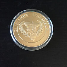 U.S. ARMY RESERVE GOLD COLOR MILITARY CHALLENGE COIN