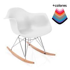 Silla mecedora, balancín clasico moderno, silla asiento con balanceo, Rocker
