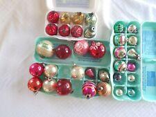 Vintage Mercury Glass Christmas Tree~~ Mixed Lot ~~Poland, USA, Shiny Brite