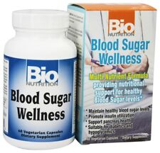 Bio Nutrition Blood Sugar Wellness 60 Vegetarian Capsules Multi Nutrient Formula